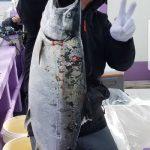 札幌市の高田さんが釣った3.8kg