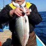 札幌市の黄金崎勝次さんが釣った4kg超
