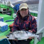 深川市の佐藤さんが釣った3.7kg