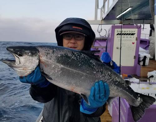 小樽市の早田さんが釣った4.2kgです