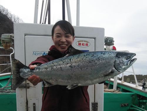 札幌市の小野寺さんが釣った3.8kg