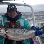 札幌市の天野さんが釣った板マス5.1kg