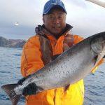 帯広市の野原さんが釣った板マス5.4kg