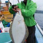 札幌市の中島さんが釣った67cmです