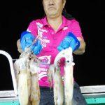 札幌市の野崎さんが好釣果をあげました