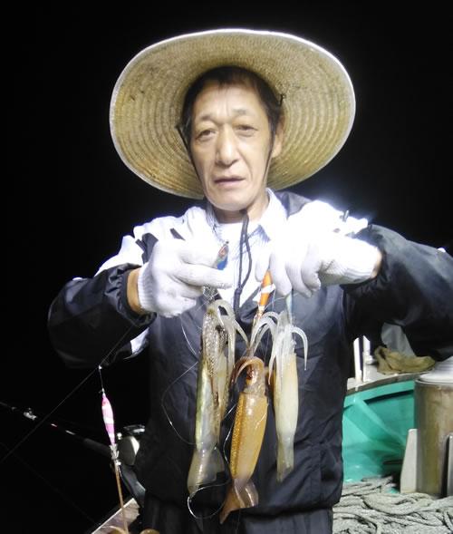 札幌市の畠谷さんが好釣果でした