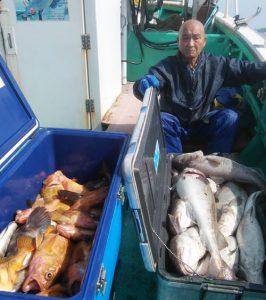 札幌市の村上さんがまた好釣果でした。