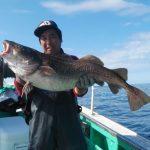 別海町の佐藤さんが釣った1m7cm