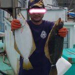 角田さんというお客様が釣った50cm55cm
