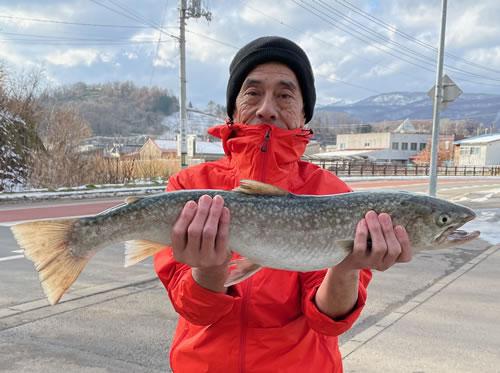 西村稔彦さんの68.5cm,2.87kg