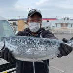 輪島さんが4kgオーバーを釣りました。