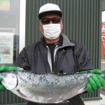 本山秀彦さんは、62.0cm,3.65kgを釣りました