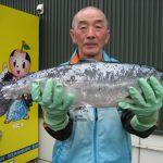 本藤さんは自己記録の2回目の更新です59cm,2.7kg
