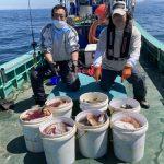 北広島市の谷内さんと中啓さんは良い釣りをしましたね!