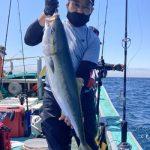 札幌市の水島さんが釣ったブリ9kg